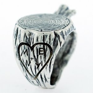 Initialed Stump Ring