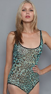 Green Leopard Bodysuit