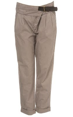 Wrap Buckle Chinos
