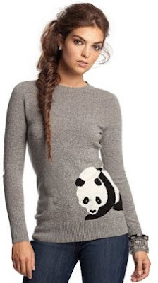 Panda Cashmere Sweater