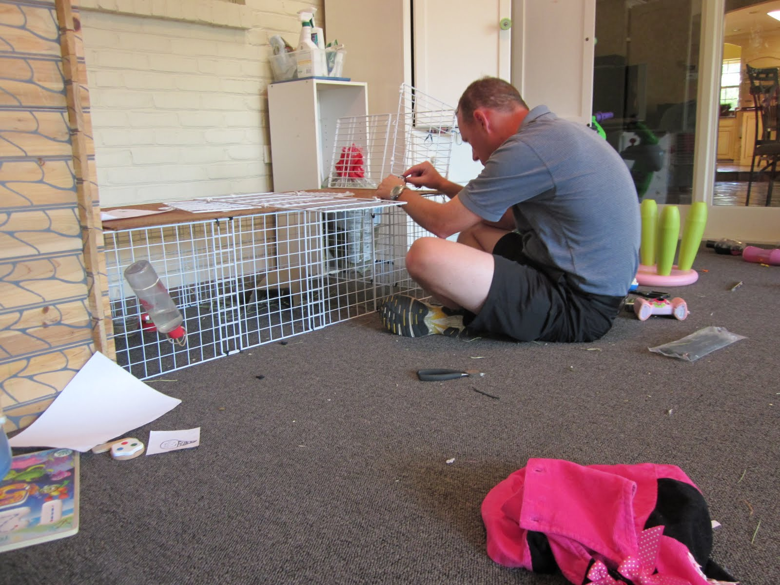 herdman happenings extreme guinea pig cage makeover