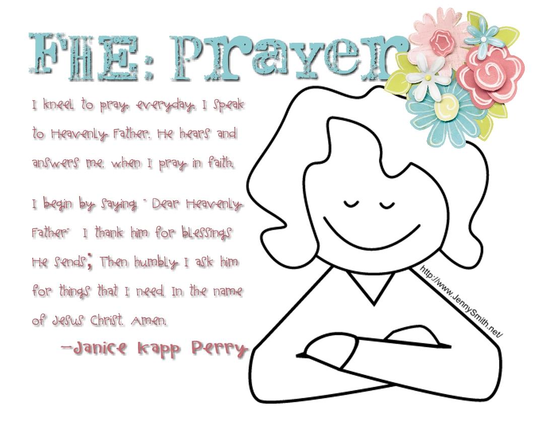 Lds clipart family prayer
