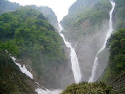 shomyou falls - toyama, japan