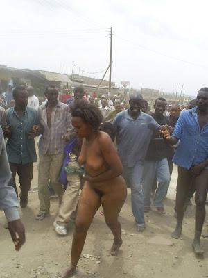 nude kenyan women