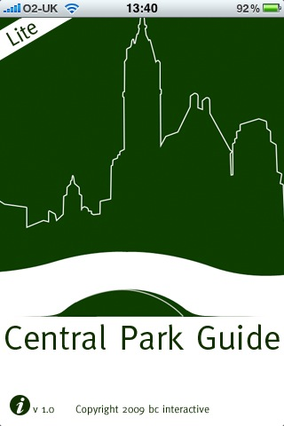 new york city central park map. iphone Apps For New York City