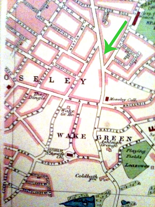 Wake Green Park Map Of Wake Green Park In The 193039s