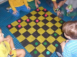 tapetinho para jogo de damas
