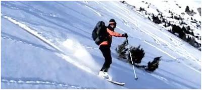 Rossignol Free Trek Venture, skis d'approche, STC SnowVenture