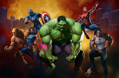 marvel artworks