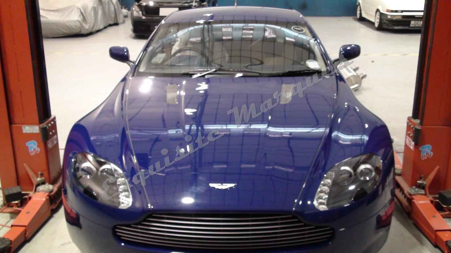 exquisite marques: aston martin vantage quicksilver exhaust system