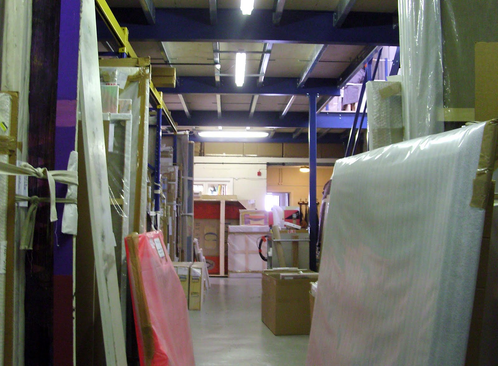 Blue apron warehouse - The Warehouse Spaces Have To Be Kept Clear And Are Regularly Tidied Up And Works Put Away In Racks I Think First Off Tomorrow I Ll Be Helping The Guys