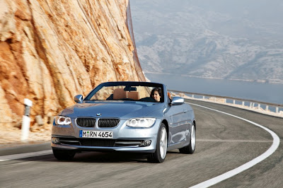 2011 BMW 3-Series Convertible Test Road