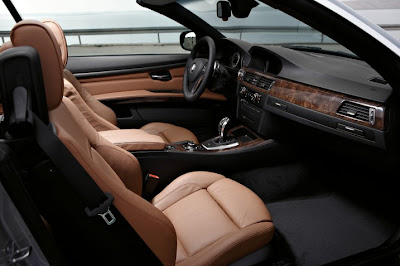 2011 BMW 3-Series Convertible Interior