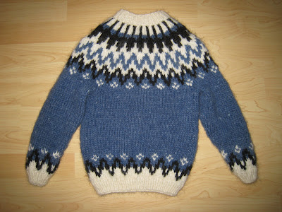 Icelandic Sweater Knitting Pattern : Knit Icelandic: FREE PATTERN AND DESCRIPTION - How to knit ...