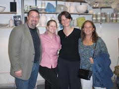 Gary, Cathy, Gina & Nancy @ Mugi Opening
