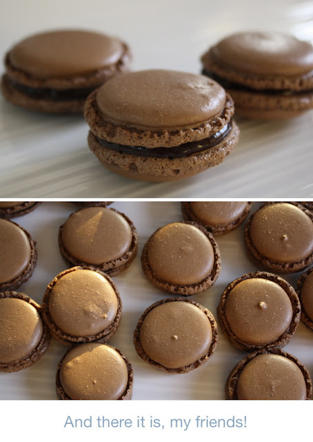 A step-by-step guide to making homemade macarons
