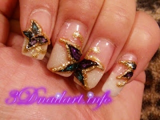 What is Japanese 3D Nail Art?