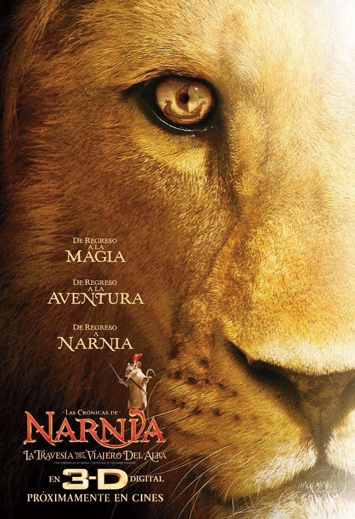 Las crónicas de Narnia: La travesía del viajero del alba (3D)