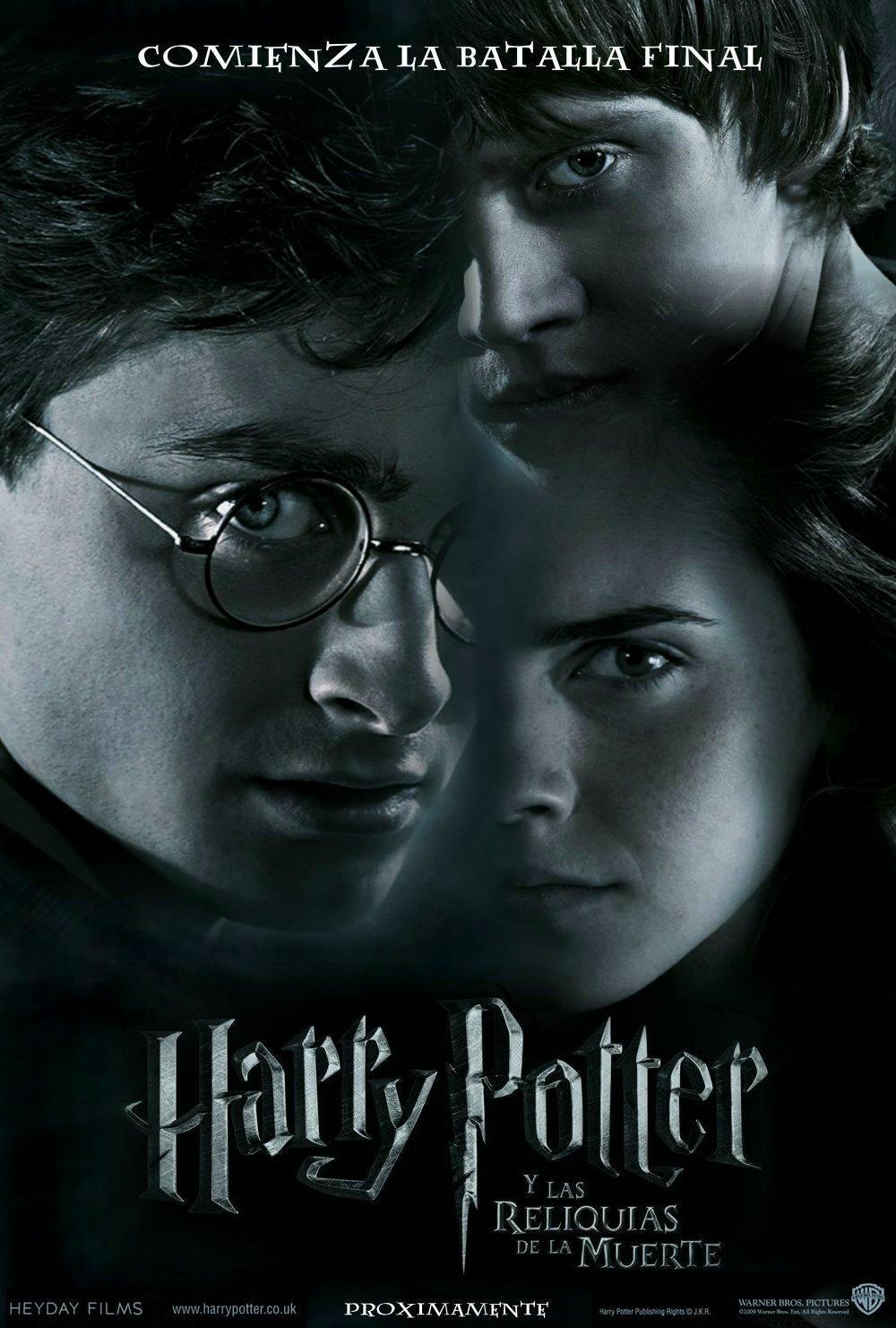 Harry Potter Y Las Reliquias De La Muerte. Parte 1
