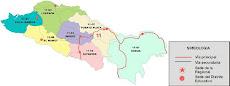 Mapa Mostrando la Regional 11