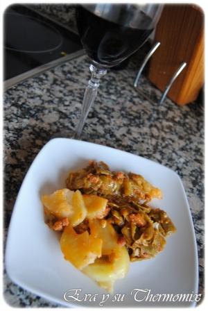 Judias verdes con patatas utilizando thermomix cocina for Cocina thermomix facil