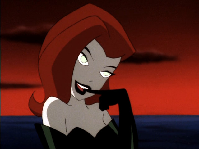 poison ivy batman cartoon. Poison Ivy used to look