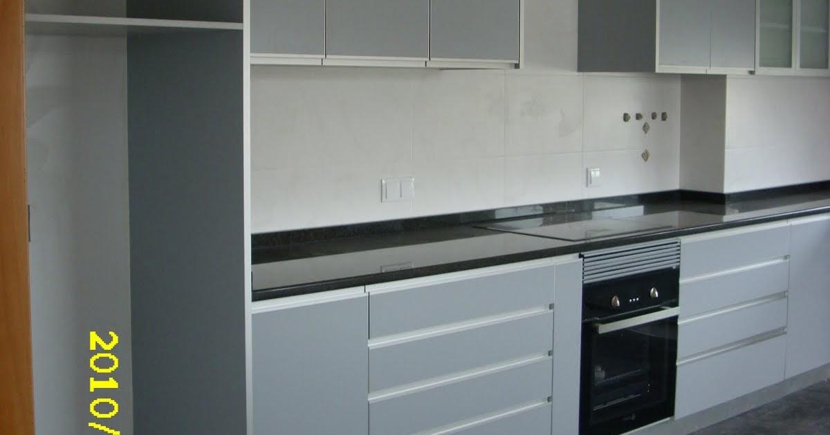 DECORAÇÃO de JORGE LEITE OLIVEIRA: Cozinha em Termolaminado cinza