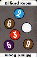 clue room card Billiard Room
