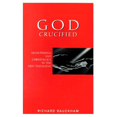 richard bauckham god crucified essay 1 jürgen moltmann, the crucified god: the cross of christ as the  passibility  has increasingly captured my attention4 this essay aims to show how i read  5  richard bauckham, the theology of jürgen moltmann (edinburgh: t & t clark,.