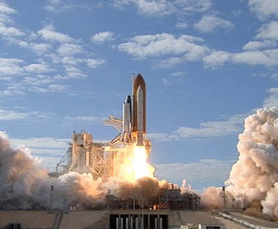 Launch of space shuttle Atlantis