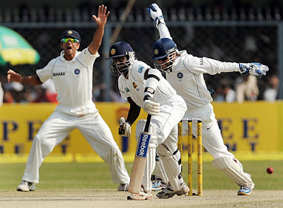 Winning moment of 100th test match