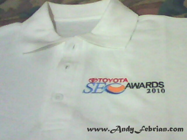 Baju Toyota SEO Awards 2010