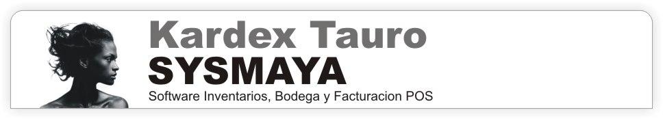 Inventarios Kardex Tauro