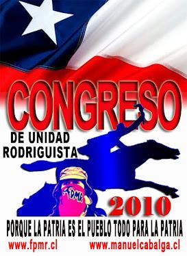 congreso de unidad rodriguista