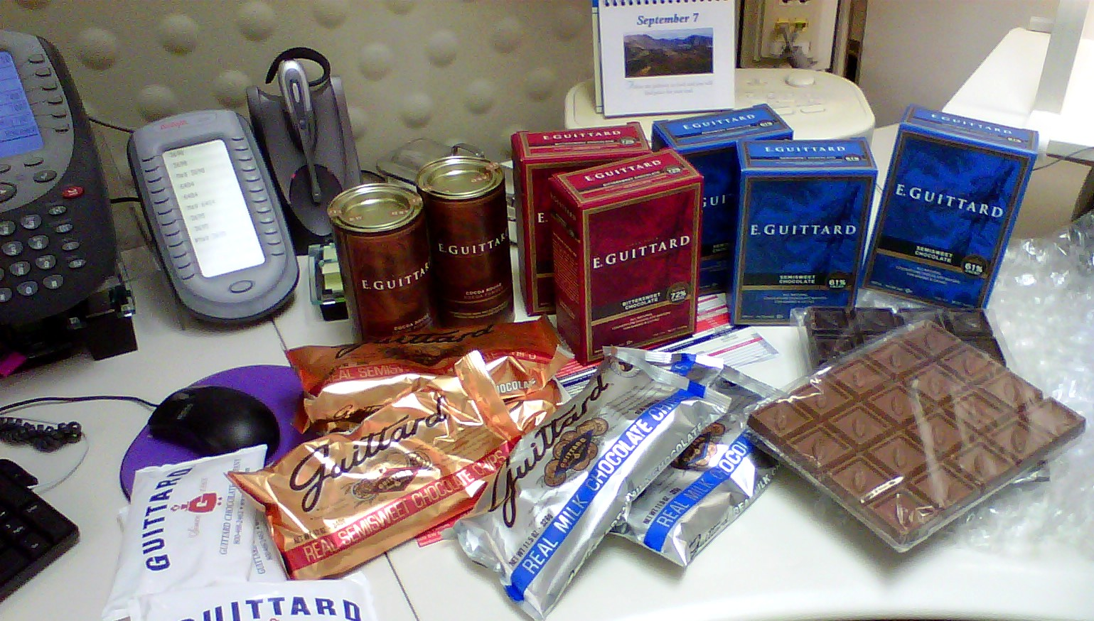 From Captain's Daughter to Army Mom: Thank You, Guittard Chocolate ...