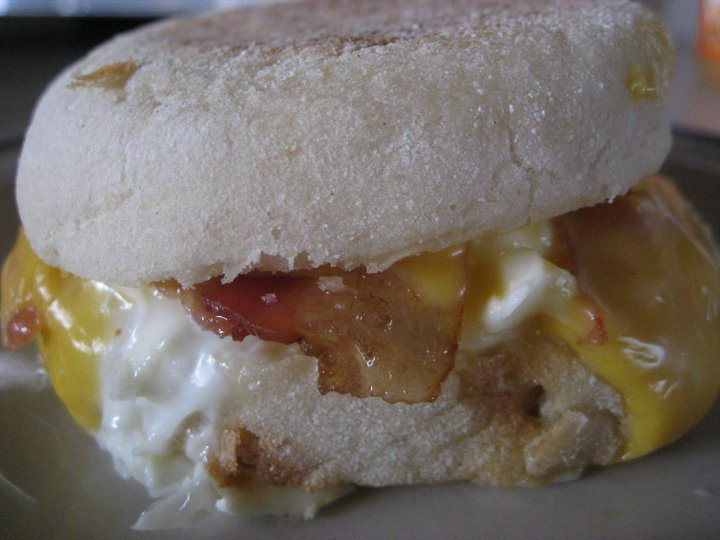 how to make egg mcmuffin at home microwave