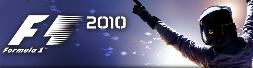 formula 1 2010 game. F1 2010 is the first