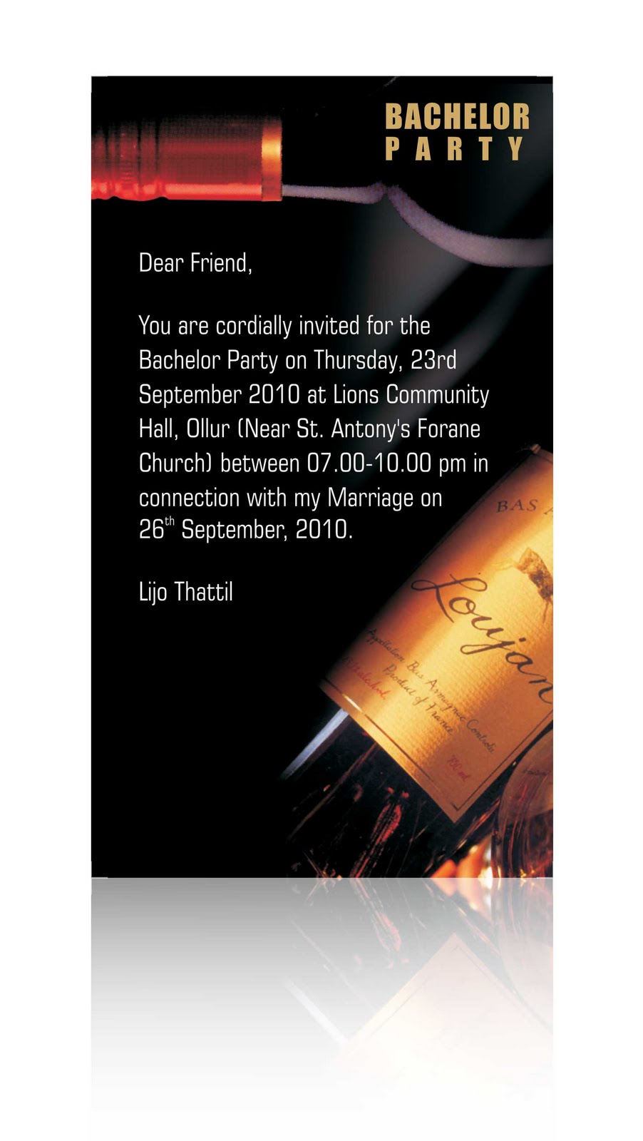 Bachelor Party Invites for your inspiration to make invitation template look beautiful