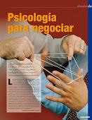 La Psicologia para negociar