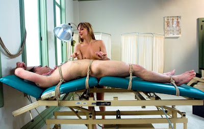 men in pain torture table