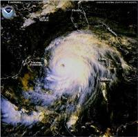 Imagen Satelital en Vivo; Temporada Huracanes 2012