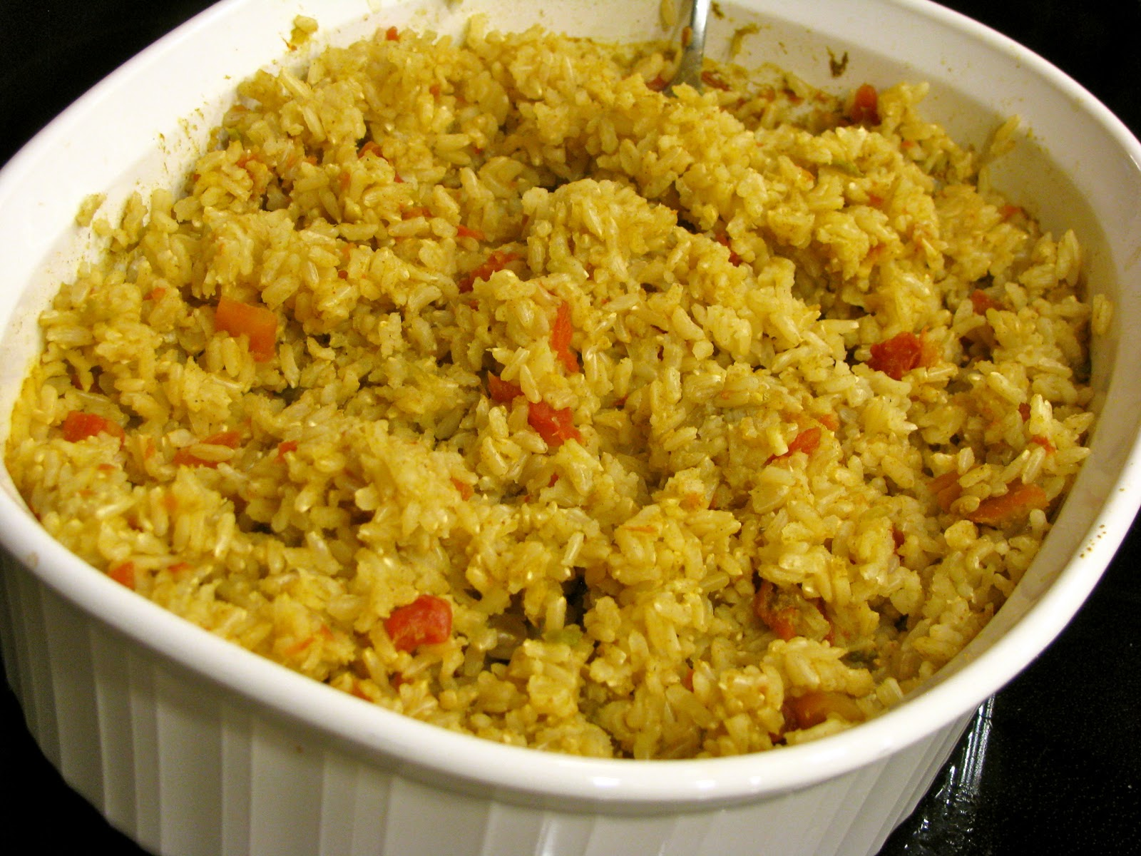 Becoming Betty: Baked Spanish Rice
