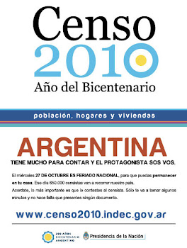 Censo Nacional 2010 - Bicentenario