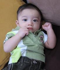 Baby Thaqif 5 bulan