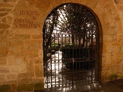 Salamanca:huerto de calixto y melibea