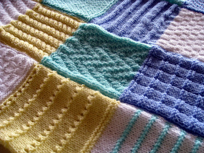 Knit Together | Eyelet and Lace Knitting Stitch Patterns