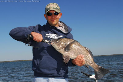Jason Peterson with his IRL black drum