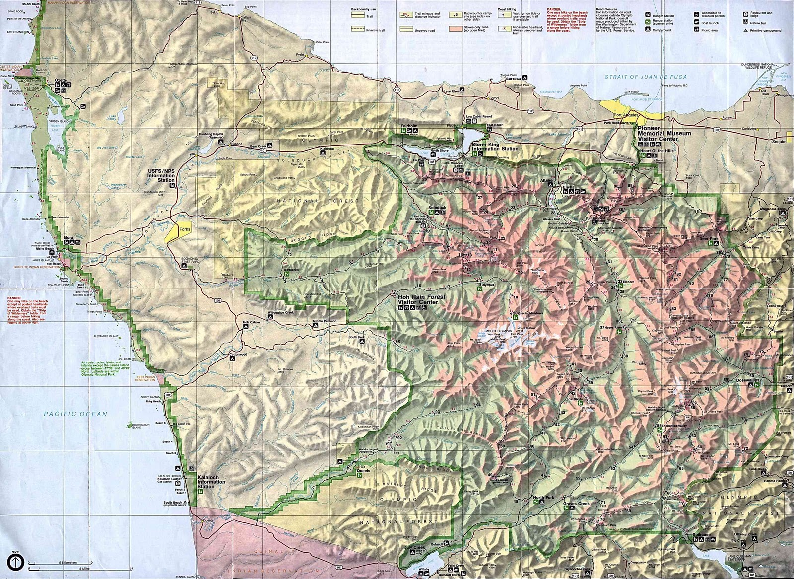 a map of olympic national park map http www olympic national park com map htm