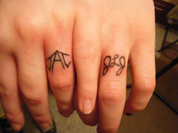 Trend Tattoos Unique Wedding Rings Tattoos