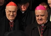 Cardinal Bertone and Bishop Perić in Mostar
